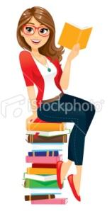 stock-illustration-21898356-woman-reading-books
