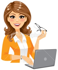 stock-illustration-22817123-smart-woman-with-laptop
