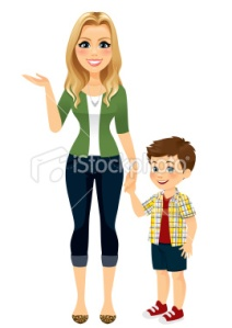 stock-illustration-23433379-mom-holding-hands-with-son