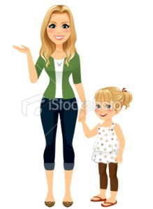 stock-illustration-23462187-mom-holding-hands-with-daughter