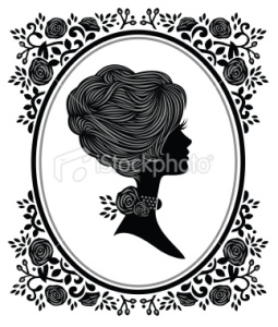 stock-illustration-24207005-floral-woman-cameo