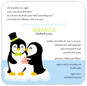 Adorable Penguin Couple