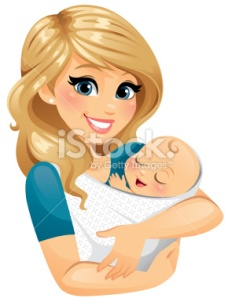 stock-illustration-37515050-mom-holding-baby-1