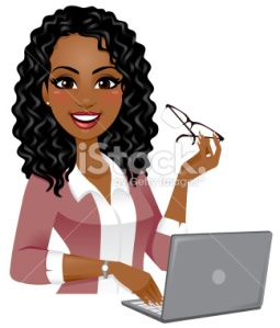 stock-illustration-39986182-smart-woman-on-laptop