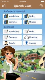 Linguine App character design