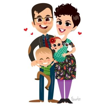 Adam + Chelsea + Addison + Emmeline