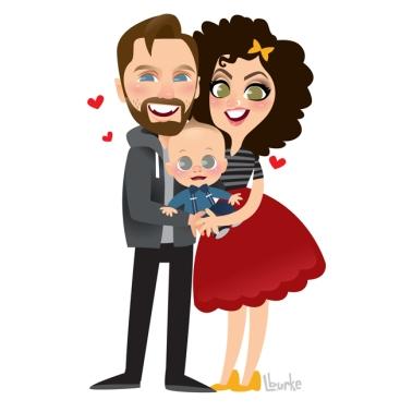 Cassidy + Rosanna + Finnegan