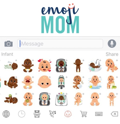 Emoji Mom App icon design
