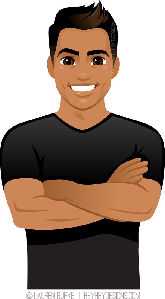 Handsome Guy in Black Shirt.jpg